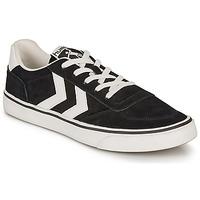 Zapatos Zapatillas bajas Hummel STADIL 3.0 SUEDE Negro / Blanco