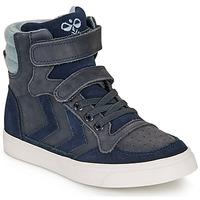 Zapatos Niños Zapatillas altas Hummel STADIL WINTER HIGH JR Azul