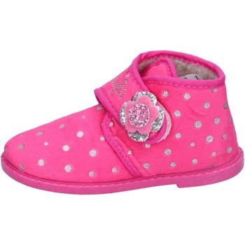 Zapatos Niña Pantuflas Lulu zapatillas rosado fucsia textil BS44 rosado