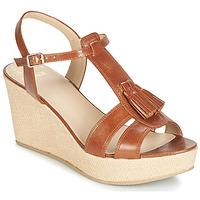 Zapatos Mujer Sandalias Bocage HERLE Cognac
