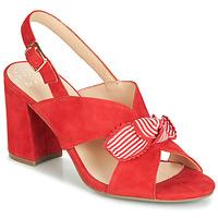 Zapatos Mujer Sandalias Bocage PAULIN Rojo
