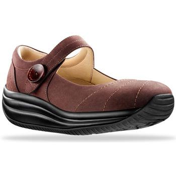 Zapatos Mujer Bailarinas-manoletinas Joya Mary Jane Brown 534