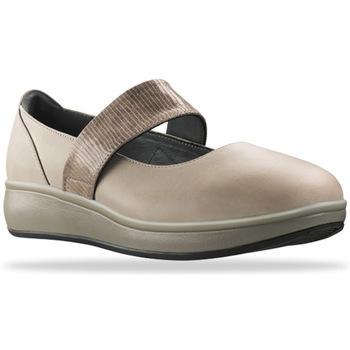 Zapatos Mujer Bailarinas-manoletinas Joya Delia Taupe 534