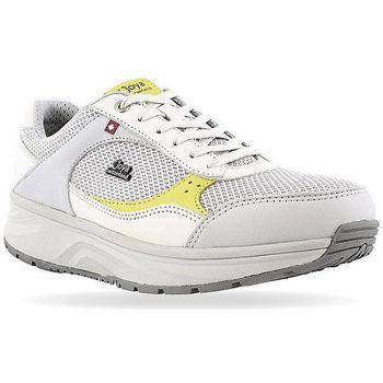 Zapatos Mujer Zapatillas bajas Joya Tina Lime White 534