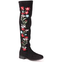 Zapatos Mujer Botas urbanas Berluskas L Boot Lady Negro