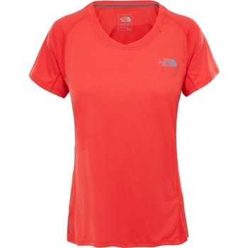 textil Mujer Camisetas manga corta The North Face Tshirt Ambition De color naranja
