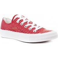 Zapatos Mujer Zapatillas bajas Converse Chuck Taylor All Star II Rojo