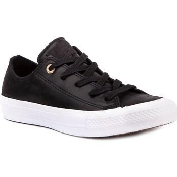 Zapatos Mujer Zapatillas bajas Converse Chuck Taylor All Star II Negro