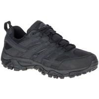 Zapatos Hombre Senderismo Merrell Moab 2 Tactical Negro