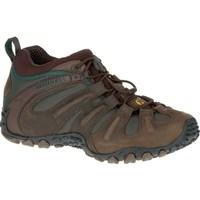 Zapatos Hombre Senderismo Merrell Chameleon II Stretch Marrón