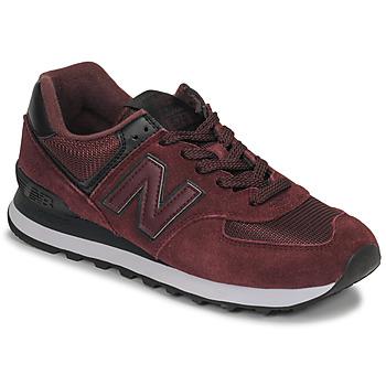 Zapatos Mujer Zapatillas bajas New Balance 574 Burdeo
