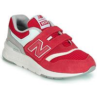 Zapatos Niños Zapatillas bajas New Balance 997 Rojo