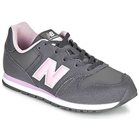 Zapatos Niña Zapatillas bajas New Balance 373 Gris / Rosa