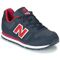 Zapatos Niños Zapatillas bajas New Balance 373 Azul / Rojo
