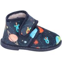 Zapatos Niño Pantuflas Blaike zapatillas azul textil BS50 azul