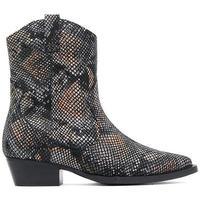 Zapatos Mujer Botines Bronx  Negro
