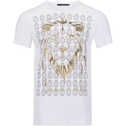 textil Hombre Camisetas manga corta Billionaire T-Shirts MTK1982 CHAMBERLIN - Hombres blanco