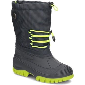 Zapatos Niños Botas de nieve Cmp Ahto WP Verde claro,Grafito
