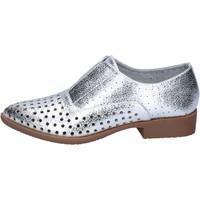 Zapatos Mujer Derbie & Richelieu Francescomilano elegantes plata cuero sintético BS73 plata