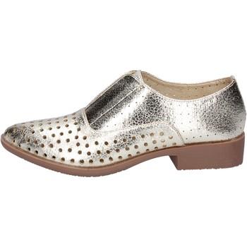 Zapatos Mujer Derbie & Richelieu Francescomilano elegantes platino cuero sintético BS74 platino