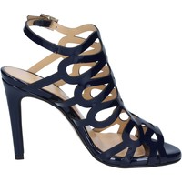 Zapatos Mujer Sandalias Olga Rubini sandalias azul charol BS91 azul