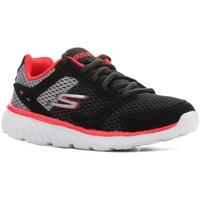 Zapatos Niños Running / trail Skechers Go Run 400 97681L-BGRD negro, rojo, gris
