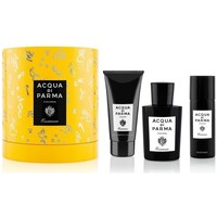 Belleza Hombre Cofres perfumes Acqua Di Parma Set Essenza - 100ml +75ml SG+75ML After Shave - Vaporizador