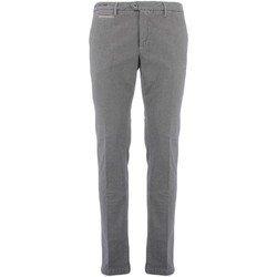 textil Hombre pantalones chinos Teleria Zed MADE IN ITALY SFS gris