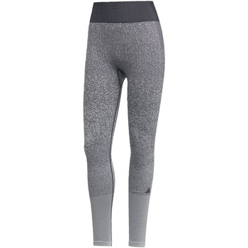 new styles 44382 4a907 textil Mujer leggings adidas Originals Mallas Believe This Primeknit FLW  Gris   Noir