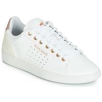 Zapatos Mujer Zapatillas bajas Le Coq Sportif COURTSTAR W BOUTIQUE Blanco / Rosa