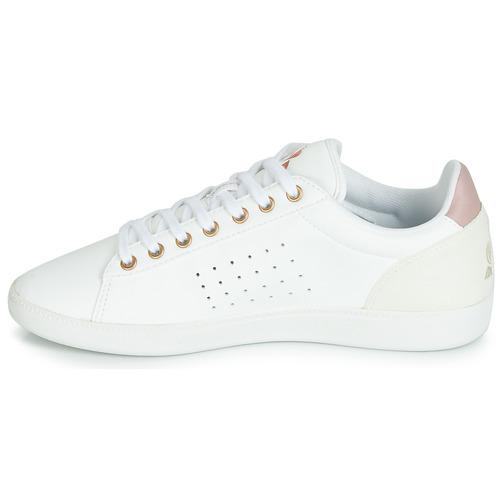 Coq BlancoRosa W Zapatos Zapatillas Bajas Le Courtstar Mujer Sportif Boutique fgYb76yv