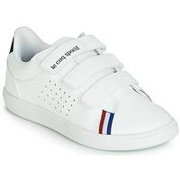 Zapatos Niños Zapatillas bajas Le Coq Sportif COURTSTAR PS SPORT BBR Blanco