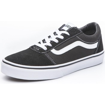 Zapatos Niños Zapatillas bajas Vans Ward Blanco, Negros