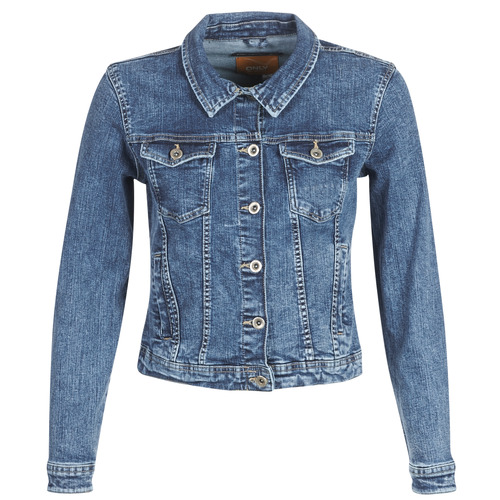 textil Mujer chaquetas denim Only ONLTIA Azul / Medium