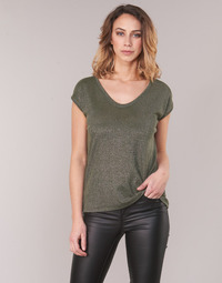 textil Mujer Tops / Blusas Only ONLSILVERY Kaki