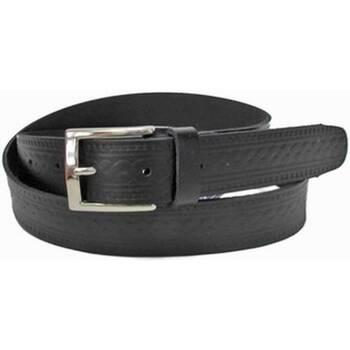Accesorios textil Hombre Cinturones Emilio Faraoni 57176 BLACK