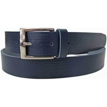 Accesorios textil Hombre Cinturones Emilio Faraoni 57179 BLUE