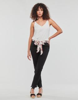 textil Mujer pantalones con 5 bolsillos Casual Attitude JIYOO Negro