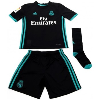 textil Niños Conjunto adidas Originals Mini Kit Enfant Real de Madrid Noir
