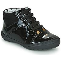 Zapatos Niña Zapatillas altas Catimini CIBELLE Negro