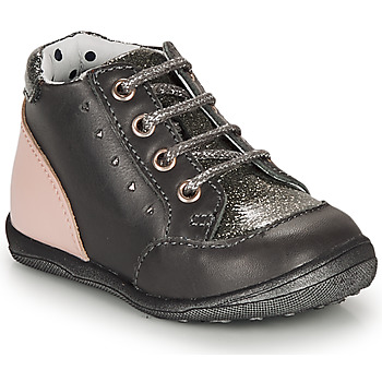 Zapatos Niña Botas de caña baja Catimini CLELIA Gris / Rosa