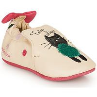 Zapatos Niña Pantuflas Catimini CALICETTE Beige / Rosa