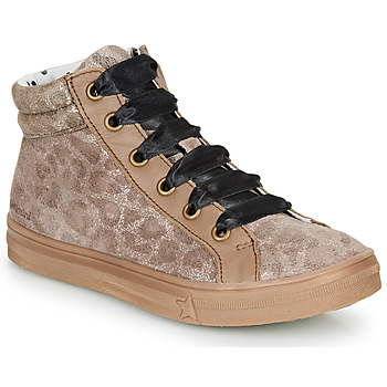 Zapatos Niña Zapatillas altas Catimini CALENDULE Leopardo