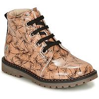 Zapatos Niña Botas de caña baja GBB NAREA Rosa / Negro