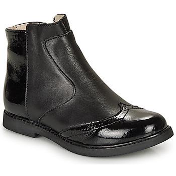 Zapatos Niña Botas de caña baja GBB OURIETTE Negro