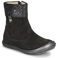 Zapatos Niña Botas de caña baja GBB ORANTO Negro
