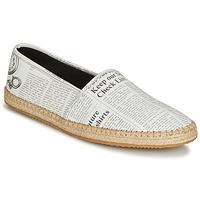 Zapatos Hombre Alpargatas John Galliano 6715 Blanco
