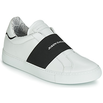 Zapatos Hombre Slip on John Galliano 6730 Blanco