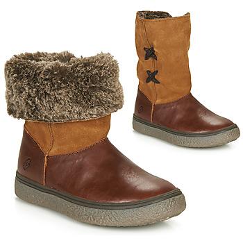 Zapatos Niña Botas de caña baja GBB OLINETTE Marrón