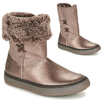 Zapatos Niña Botas de caña baja GBB OLINETTE Oro